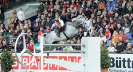 Nick Skelton on Carlo (photo taken by Karl-Heinz Frieler)